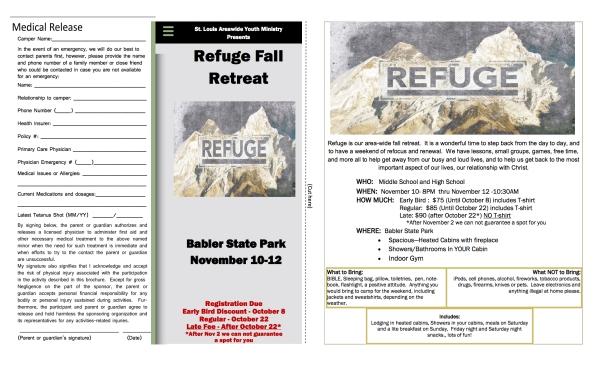 Refuge Registration Form 2017